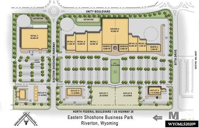 Lot A N Federal Boulevard, Riverton, WY 82501 (MLS #20206668) :: Real Estate Leaders