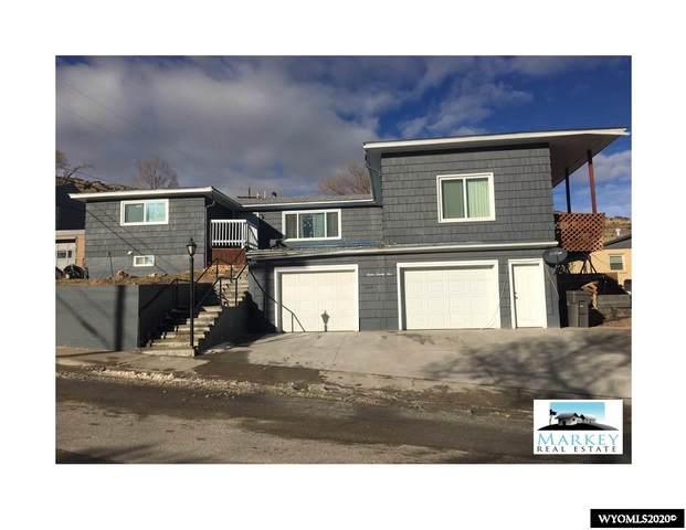 1225 High Street, Rawlins, WY 82301 (MLS #20206867) :: Real Estate Leaders