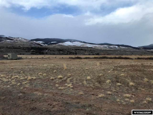 lot 25 West View Drive, Dubois, WY 82513 (MLS #20206910) :: Real Estate Leaders
