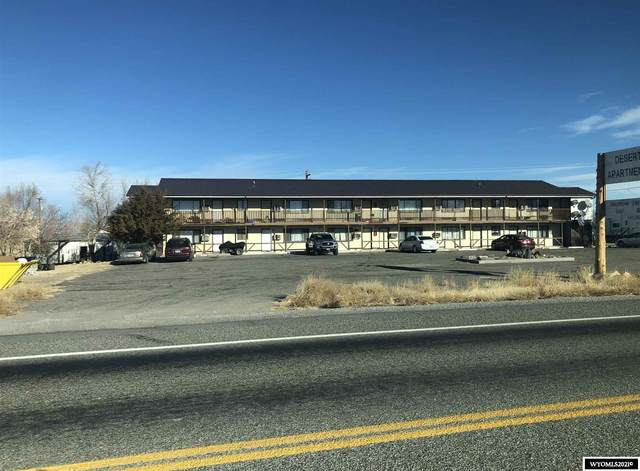 550 W 2nd, Shoshoni, WY 82649 (MLS #20210236) :: Real Estate Leaders
