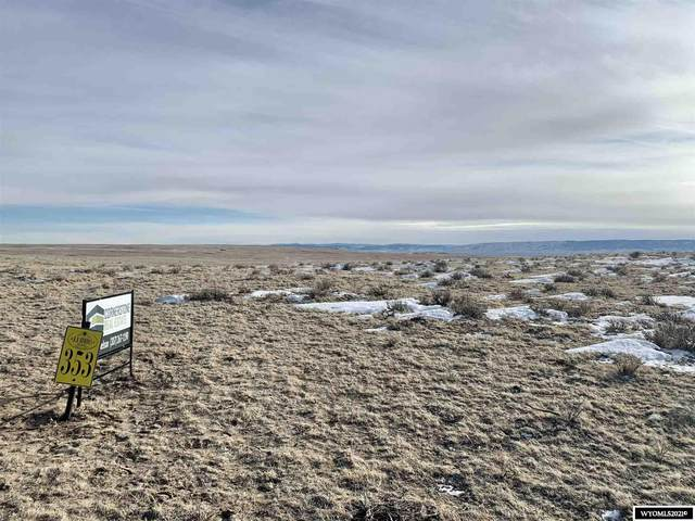 Lot 353 Frontier Street, Casper, WY 82604 (MLS #20210312) :: RE/MAX The Group