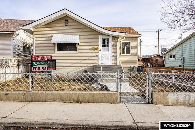 803 Center Street, Rock Springs, WY 82901 (MLS #20210332) :: Lisa Burridge & Associates Real Estate