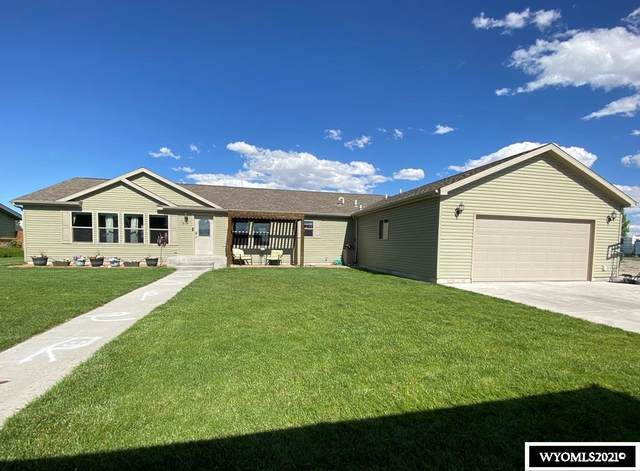 813 Butte Drive, Riverton, WY 82501 (MLS #20210385) :: Real Estate Leaders