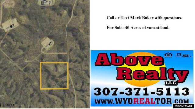 SEC 11 SW4SE4 T22n R93w, Wamsutter, WY 82336 (MLS #20210950) :: Lisa Burridge & Associates Real Estate