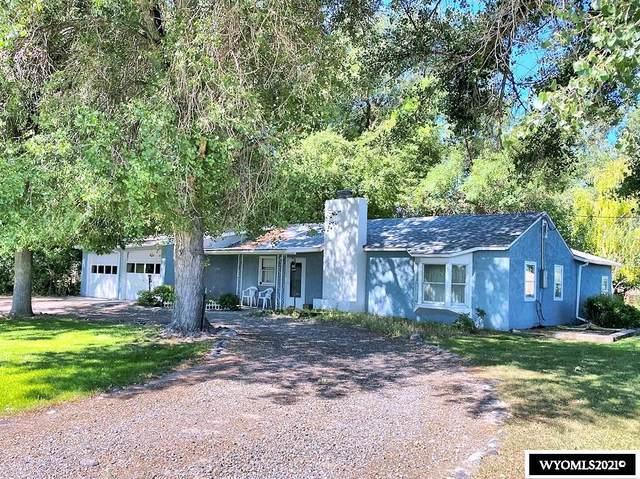 10795 Hwy 789, Riverton, WY 82501 (MLS #20211056) :: Lisa Burridge & Associates Real Estate