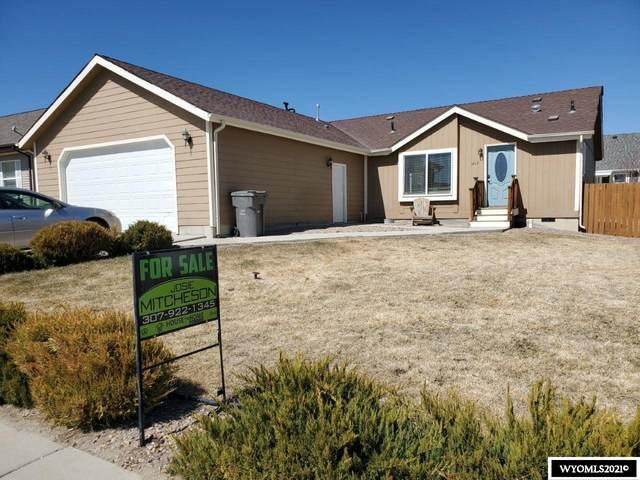 1413 Osprey Drive, Rock Springs, WY 82901 (MLS #20211540) :: Real Estate Leaders