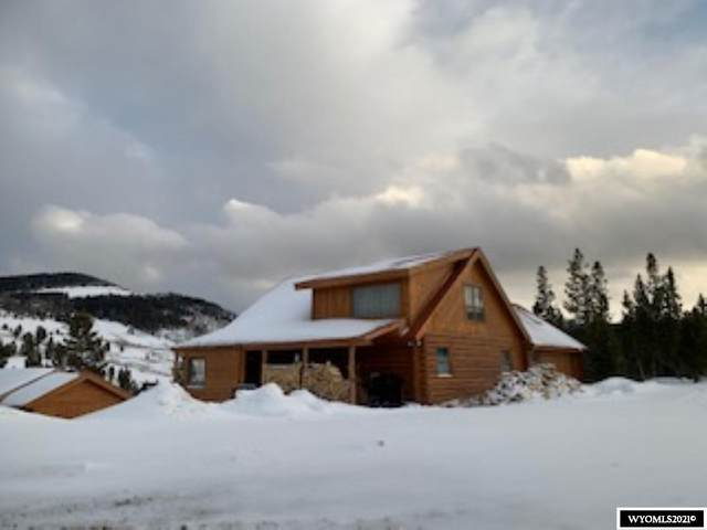 487 Union Pass Road, Dubois, WY 82513 (MLS #20211646) :: Real Estate Leaders
