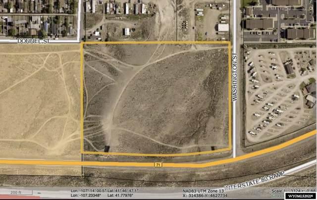 I-80 N Exit 214 (Parcel B), Rawlins, WY 82301 (MLS #20212202) :: Lisa Burridge & Associates Real Estate