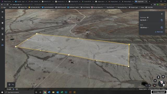 120 Acres Robinett Ranches, Casper, WY 82604 (MLS #20212389) :: Real Estate Leaders