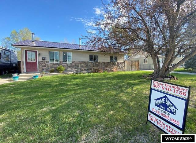 1210 E Pershing Avenue, Riverton, WY 82501 (MLS #20212466) :: RE/MAX The Group