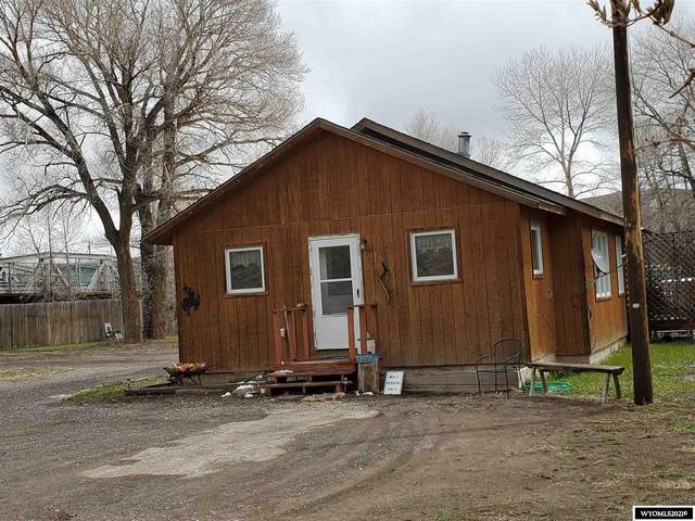 119 Horse Creek Road, Dubois, WY 82513 (MLS #20212482) :: RE/MAX The Group