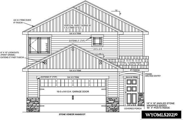 841 Dusty Terrace, Mills, WY 82604 (MLS #20212863) :: Broker One Real Estate
