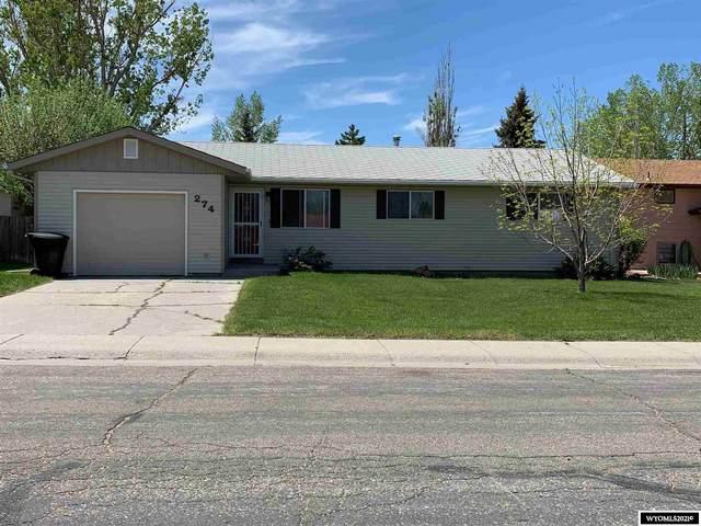 274 Daffodil, Casper, WY 82604 (MLS #20212902) :: Broker One Real Estate