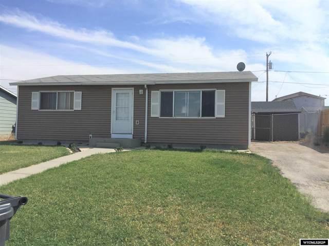 410 E Davis Street, Rawlins, WY 82301 (MLS #20213049) :: Broker One Real Estate
