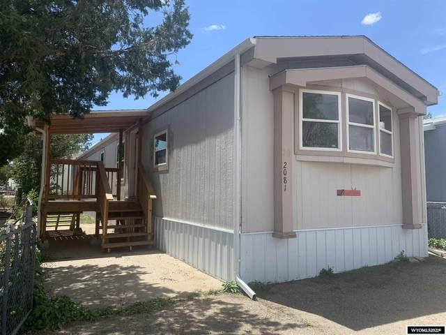 2081 E A Street, Casper, WY 82609 (MLS #20213234) :: Broker One Real Estate