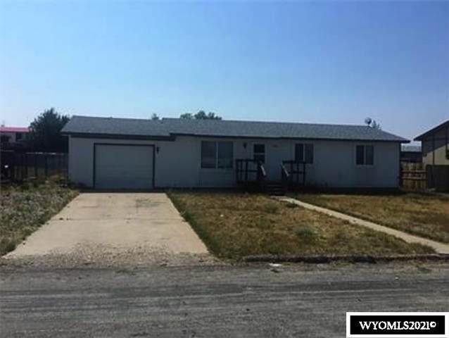 108 S Clark Street, Hanna, WY 82327 (MLS #20213256) :: Broker One Real Estate