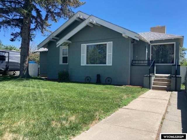 821 9th Street, Rawlins, WY 82301 (MLS #20213323) :: Broker One Real Estate