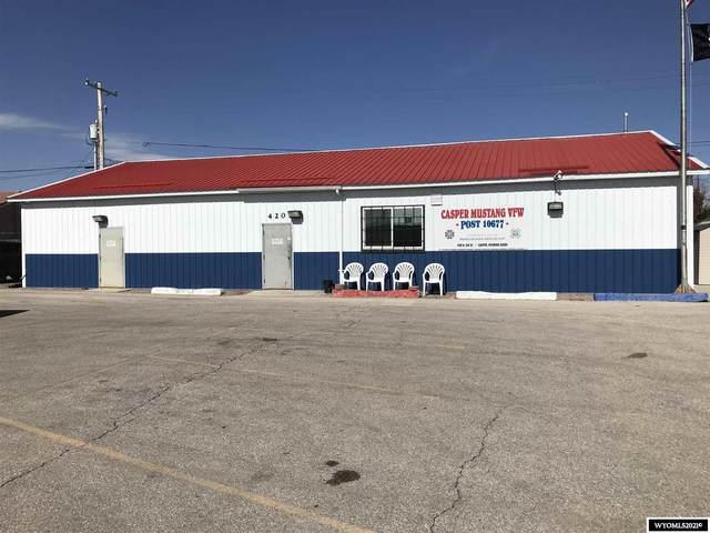 420 N Elk Street, Casper, WY 82601 (MLS #20213395) :: RE/MAX The Group