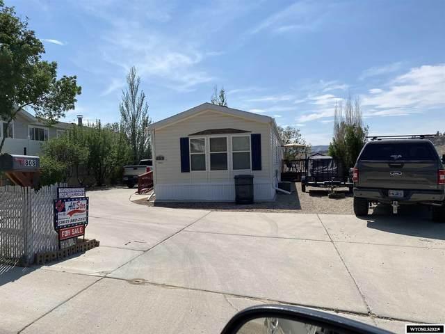 808 Ash Street, Rock Springs, WY 82901 (MLS #20213451) :: Real Estate Leaders