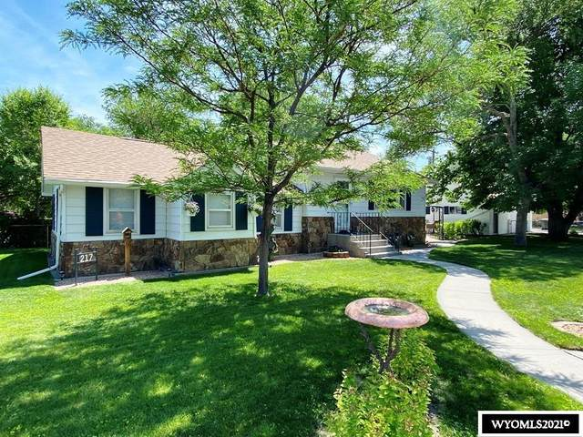 217 N 6th St W, Riverton, WY 82501 (MLS #20213509) :: Lisa Burridge & Associates Real Estate