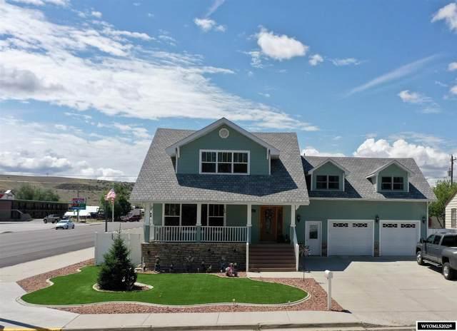 603 Clark, Thermopolis, WY 82443 (MLS #20213639) :: Lisa Burridge & Associates Real Estate