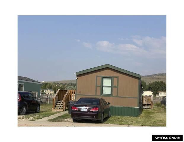 1425 E Murray #61 Street, Rawlins, WY 82301 (MLS #20214002) :: Broker One Real Estate