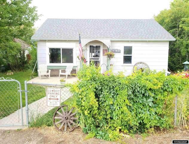 114 N Lincoln Avenue, Glendo, WY 82213 (MLS #20214093) :: Lisa Burridge & Associates Real Estate