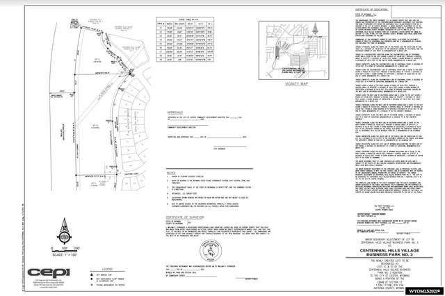 Lot 1C Centennial, Casper, WY 82609 (MLS #20214257) :: Real Estate Leaders