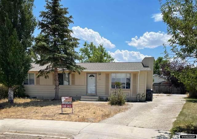 1440 Gannett Circle, Green River, WY 82935 (MLS #20214258) :: Lisa Burridge & Associates Real Estate