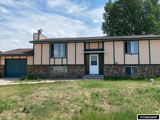 116 S Clark, Hanna, WY 82327 (MLS #20214301) :: RE/MAX The Group