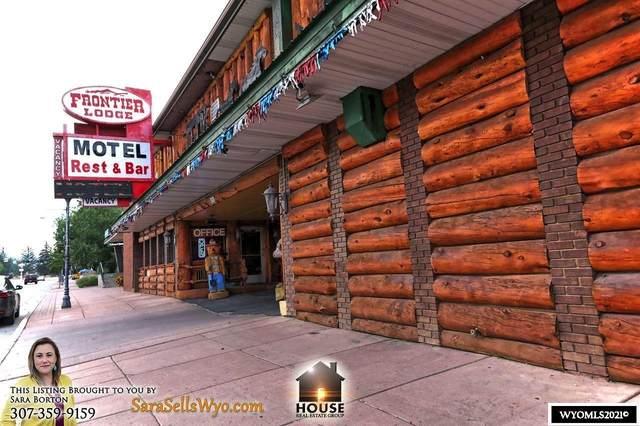 808 Main Street, Lander, WY 82520 (MLS #20214397) :: RE/MAX Horizon Realty