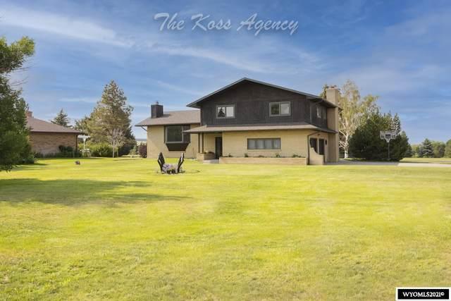 30 Fairway Drive, Douglas, WY 82633 (MLS #20214454) :: Real Estate Leaders