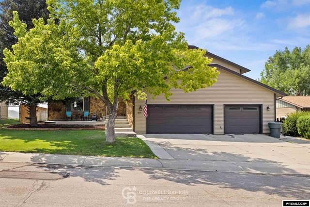 4820 S Oak, Casper, WY 82601 (MLS #20214582) :: Real Estate Leaders