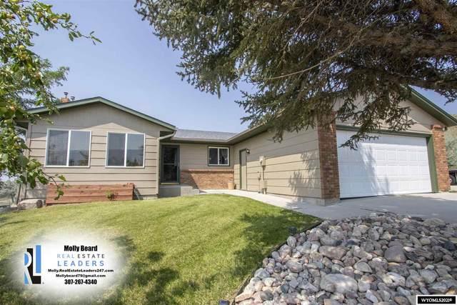 5940 Bell Valley Road, Casper, WY 82604 (MLS #20214590) :: Real Estate Leaders