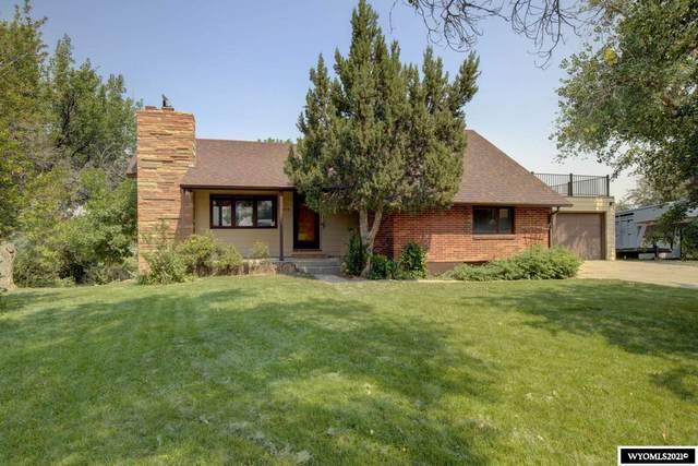 6414 W Riverside Terrace, Casper, WY 82604 (MLS #20214749) :: Real Estate Leaders
