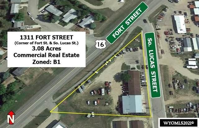 1311 Fort Street, Buffalo, WY 82834 (MLS #20215482) :: RE/MAX Horizon Realty