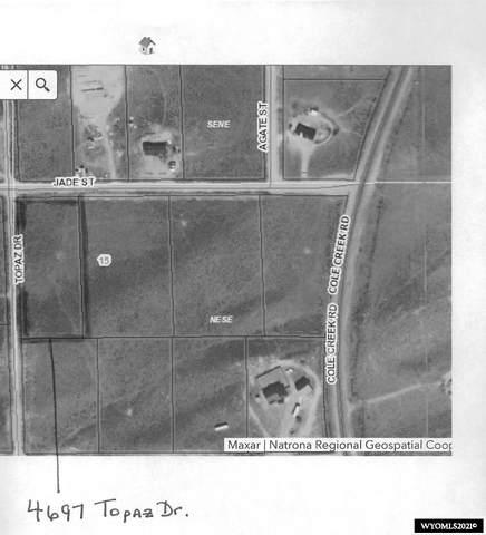 4697 Topaz Drive, Evansville, WY 82636 (MLS #20215566) :: Broker One Real Estate