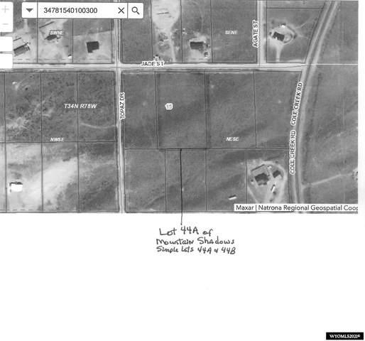 Lot 44A Jade, Evansville, WY 82636 (MLS #20215567) :: Broker One Real Estate