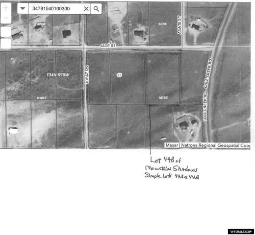 Lot 44B Jade, Evansville, WY 82636 (MLS #20215568) :: Broker One Real Estate