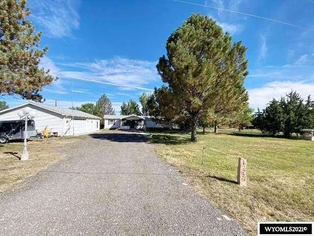 1222 River Lane, Riverton, WY 82501 (MLS #20215649) :: RE/MAX Horizon Realty