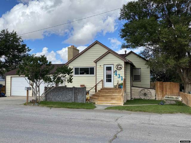 431 Donnel Street, Rawlins, WY 82301 (MLS #20215661) :: RE/MAX Horizon Realty