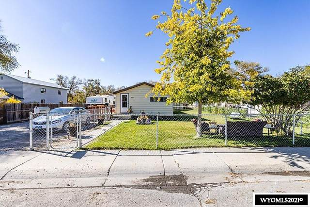 560 E 4th South Street, Green River, WY 82935 (MLS #20215903) :: RE/MAX Horizon Realty