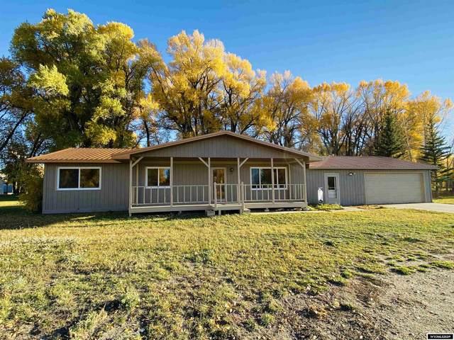 6 Cedar Drive, Riverside, WY 82325 (MLS #20216054) :: Real Estate Leaders