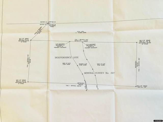 Acreage Wy 70, Encampment, WY 82325 (MLS #20216216) :: RE/MAX Horizon Realty