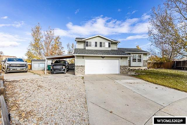 1135 Maine Way, Green River, WY 82935 (MLS #20216281) :: RE/MAX The Group