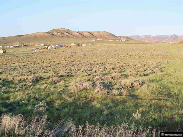 Lot 48 Sage Valley Subdivision Corner, Thermopolis, WY 82443 (MLS #20152561) :: Real Estate Leaders