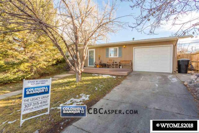 1911 Brentwood Drive, Casper, WY 82604 (MLS #20180106) :: Real Estate Leaders
