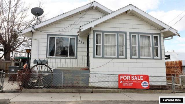 209 Meade Street, Rock Springs, WY 82901 (MLS #20180623) :: Real Estate Leaders