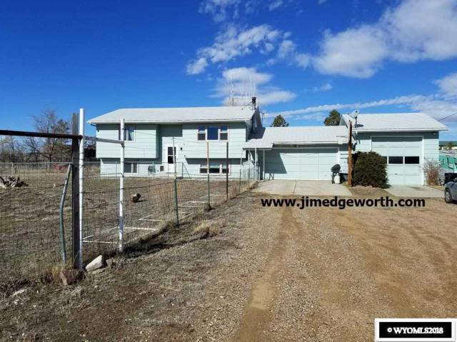 31 N Badger, Glenrock, WY 82638 (MLS #20180994) :: Real Estate Leaders