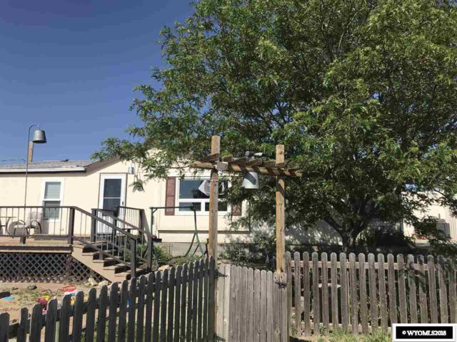 81 Lounsberry, Glenrock, WY 82637 (MLS #20181141) :: Real Estate Leaders